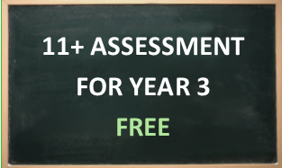 11+ assessment for year 3
