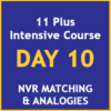 11 plus intensive course Day 10