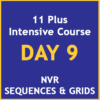 11 plus intensive course Day 9